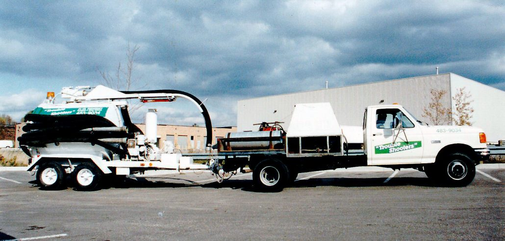 Trouble Shooters Hydro jetting truck