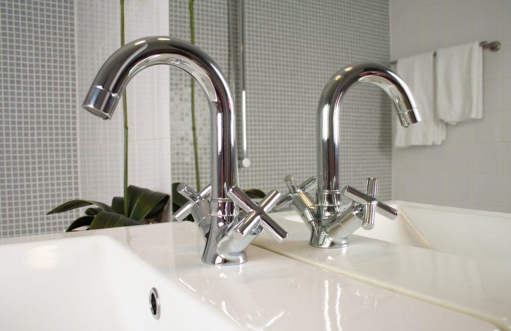 bathroom tap fixture installation