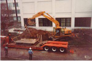 Local plumber excavation