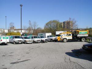 Trouble Shooters Fleet of trucks