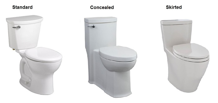 new toilet trap styles